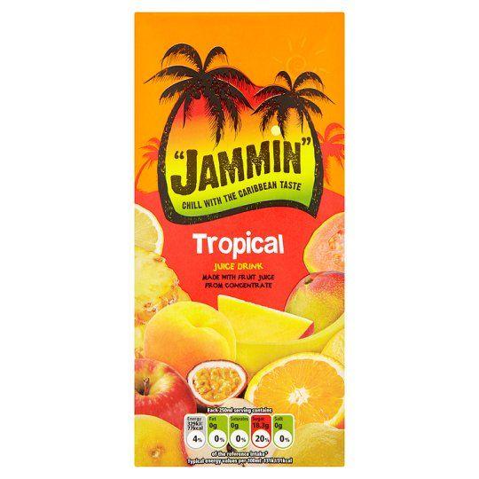 Jammin Tropical Juice Drink 1 Litre