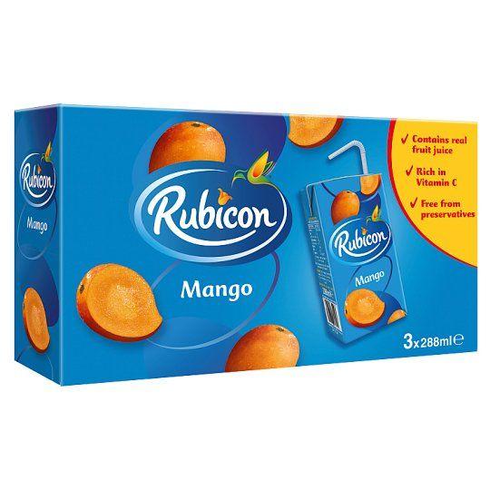 Rubicon Still Mango Juice Drink 3X288ml Carton