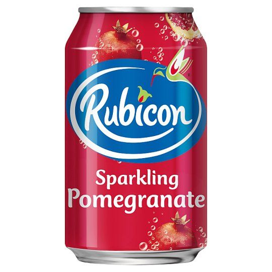 Rubicon Sparkling Pomegranate Juice Drink 330ml Can