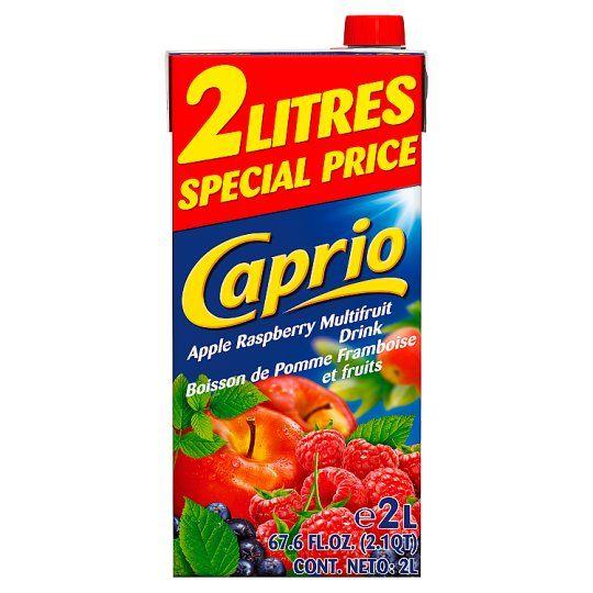 Caprio Apple & Raspberry Drink 2 Litre Carton