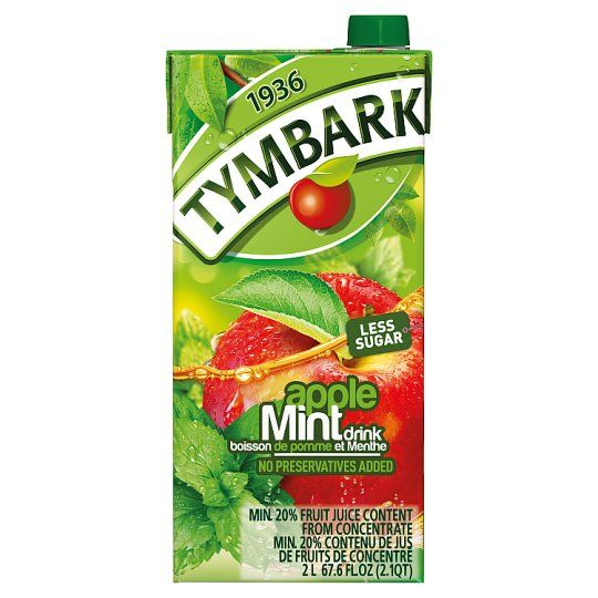 Tymbark Apple & Mint Nectar Drink 2L