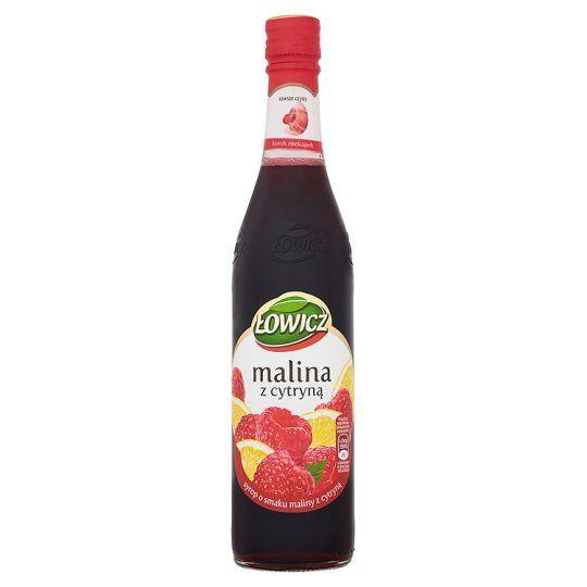 Lowicz Raspberry & Lemon Syrup 400ml