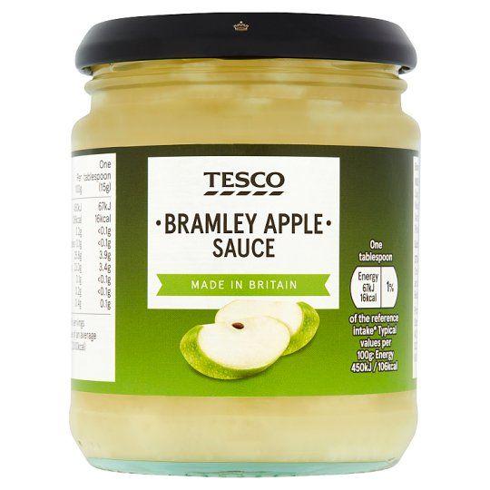 Tesco Bramley Apple Sauce 270g