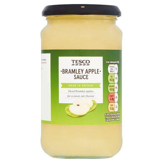 Tesco Bramley Apple Sauce 470g