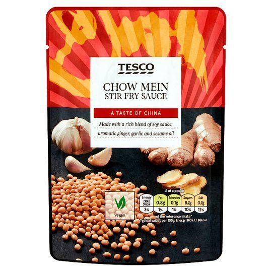 Tesco Chow Mein Stir Fry Sauce 120g