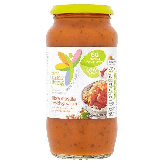 Tesco Healthy Living Tikka Masala Cooking Sauce 500g