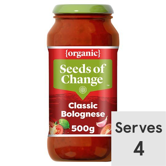 Seeds of Change Bolognese Organic Pasta Sauce 500g