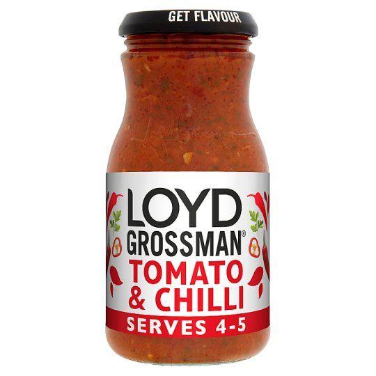 Loyd Grossman Tomato & Chilli Pasta Sauce 660g