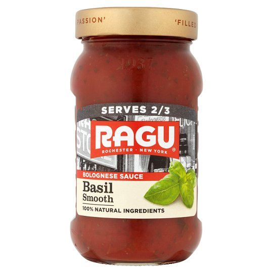Ragu Smooth Bolognese Pasta Basil Sauce 375g