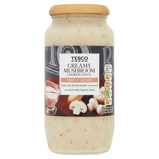 Tesco Creamy Mushroom Sauce 480g