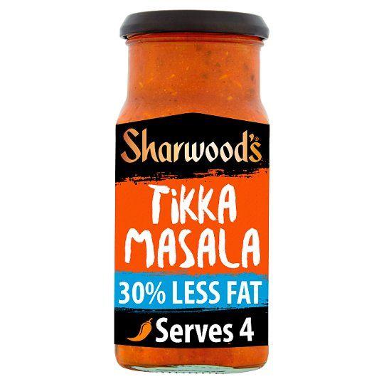 Sharwoods Tikka Masala 30% Less Fat Cooking Sauce 420g