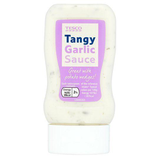 Tesco Tangy Garlic Sauce 285g