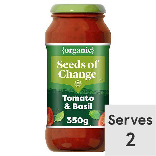 Seeds of Change Tomato & Basil Organic Pasta Sauce 350g