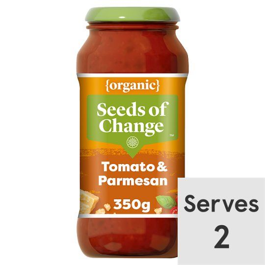 Seeds of Change Organic Tomato Basil Parmesan Sce350g