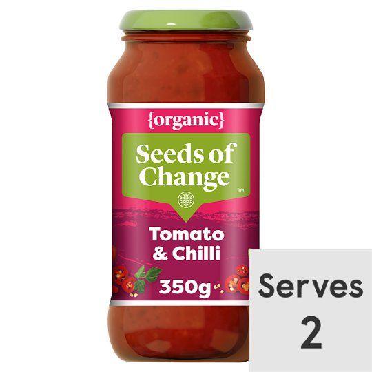 Seeds of Change Tomato Chilli Organic Pasta Sauce 350g