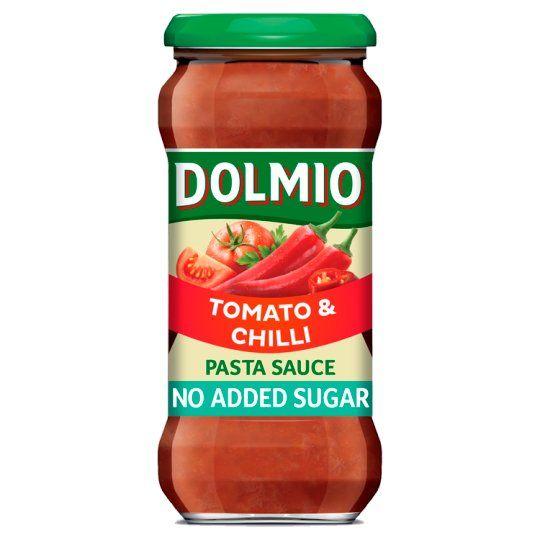 Dolmio Tomato & Chilli No Added Sugar Pasta Sauce 350g