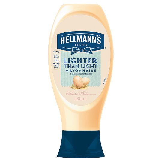 Hellmann's Lighter Than Light Squeezy Mayonnaise 430ml