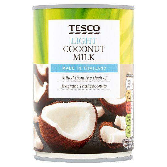Tesco Light Coconut Milk 400ml