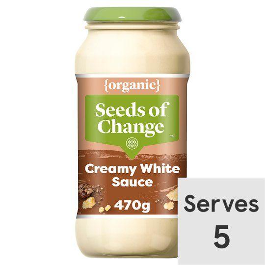 Seeds of Change White Pasta Sauce 470g