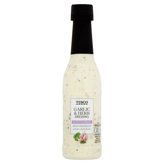 Tesco Garlic and Herb Dressing 250ml
