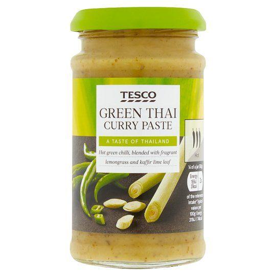 Tesco Thai Green Curry Paste 200g