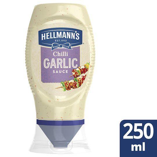 Hellmann's Garlic Chilli Sauce 250ml