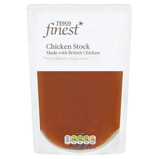 Tesco Finest Chicken Stock 450ml
