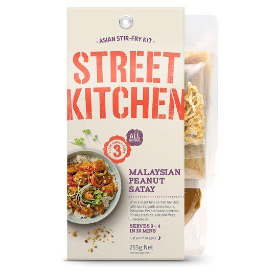 Street Kitchen Malaysian Satay Chicken Meal Kit 255g