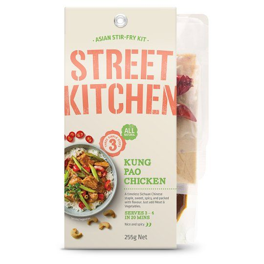 Street Kitchen Kung Pao Chicken Meal Kit 255g