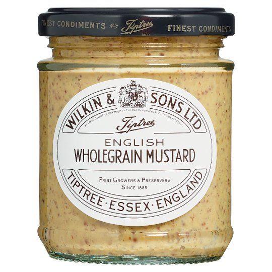 Tiptree East Anglian Hot Mustard 185g