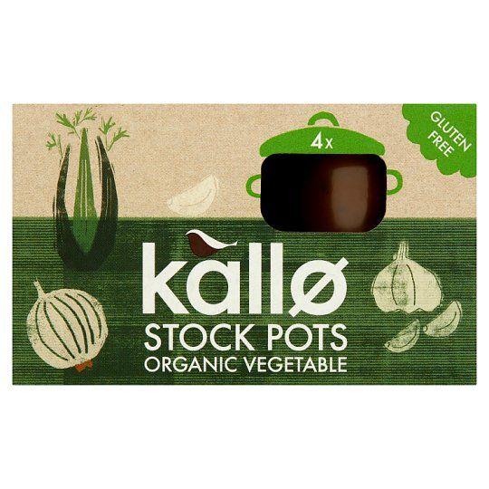 Kallo Organic Vegetable Stock Pot 96g