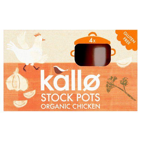 Kallo Organic Chicken Stockpot 96g