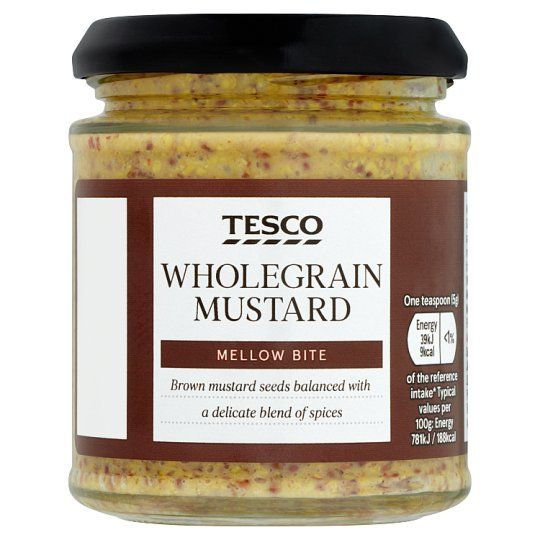 Tesco Wholegrain Mustard 180g