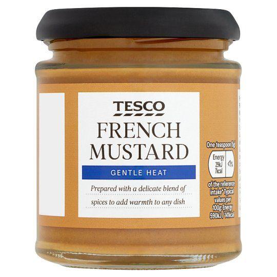 Tesco French Mustard 185g