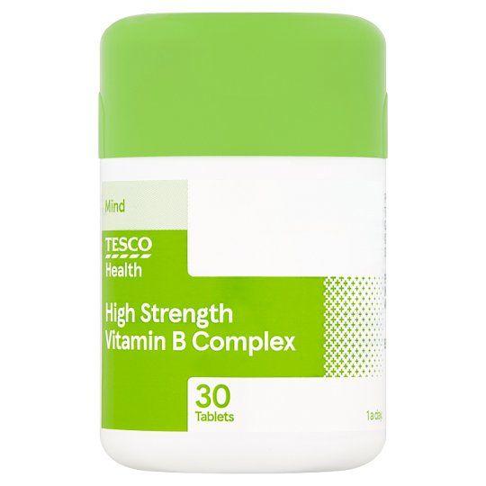 Tesco High Strength Vitamin B X 30