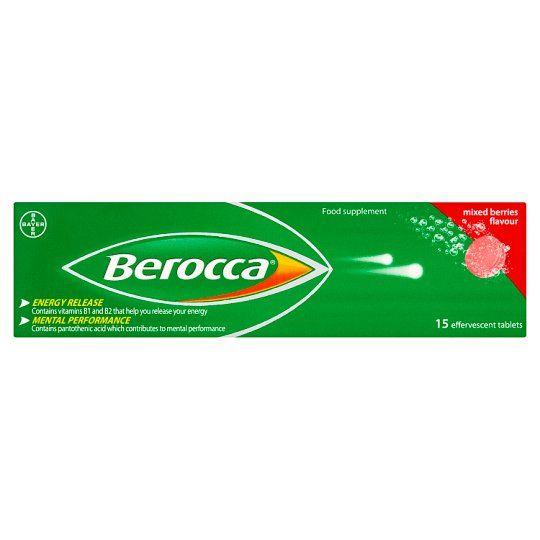 Berocca Berries Effervescent Vitamin Energy Tablets 15S
