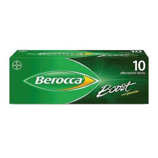 Berocca Boost Effervescent Vitamin Energy Tablets 10S