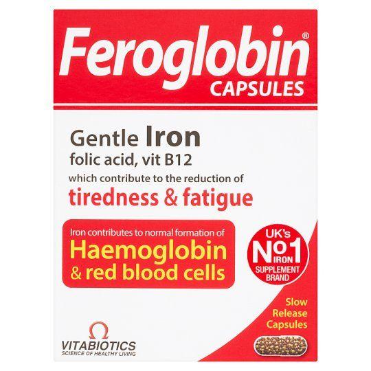 Feroglobin B12 Sustained Release Caps 30