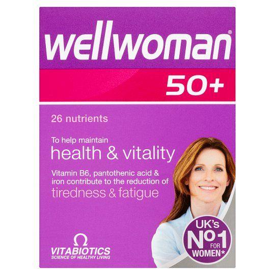 Wellwoman 50+ 30S