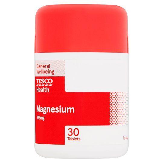 Tesco Magnesium 375Mg 30'S