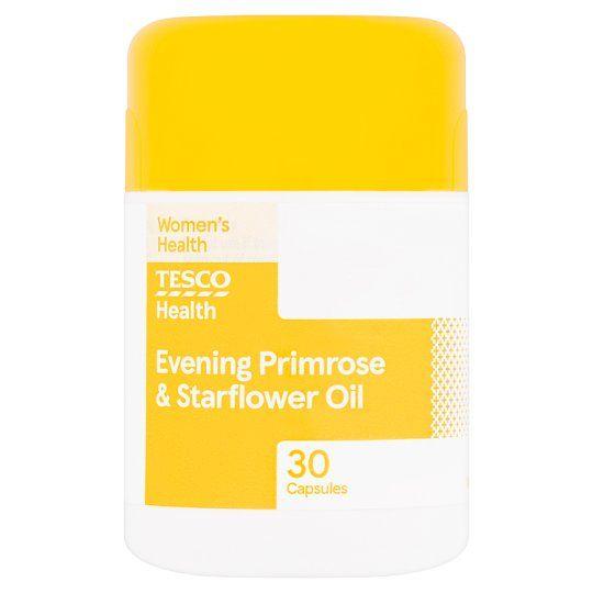 Tesco Evening Primrose Oil Plus Starflower X 30