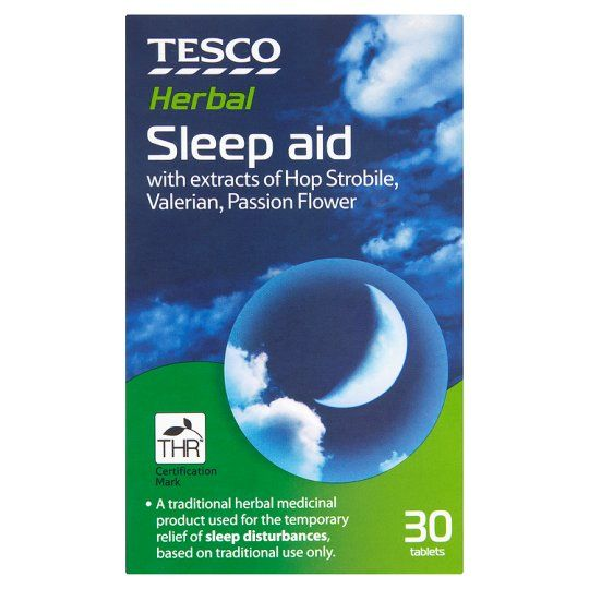 Tesco Sleep Aid 30S