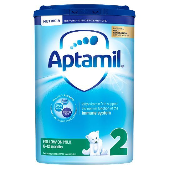 6 x Aptamil 2 Follow On Milk Powder 800g - Including Delivery to China
