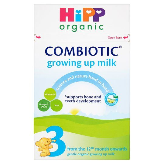 6 x Hipp Organic Growing Up Milk Powder 600g - Including Delivery to China