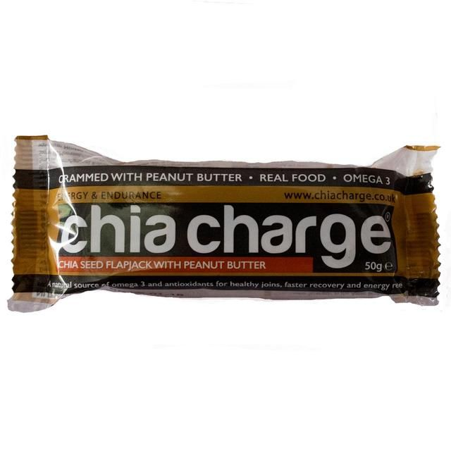 Chia Charge Peanut Butter Flapjack 50g