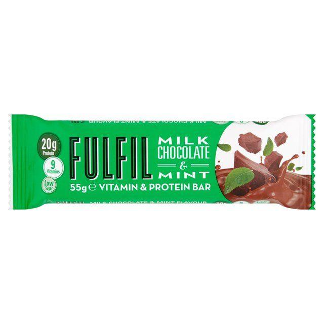 Fulfil Milk Chocolate & Mint Protein Bar 55g