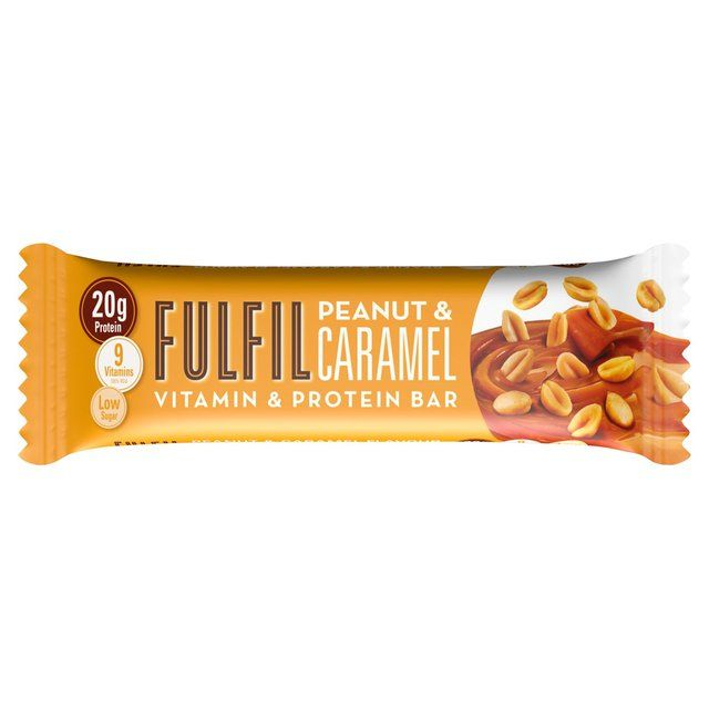 Fulfil Peanut & Caramel Vitamin & Protein Bar 55g