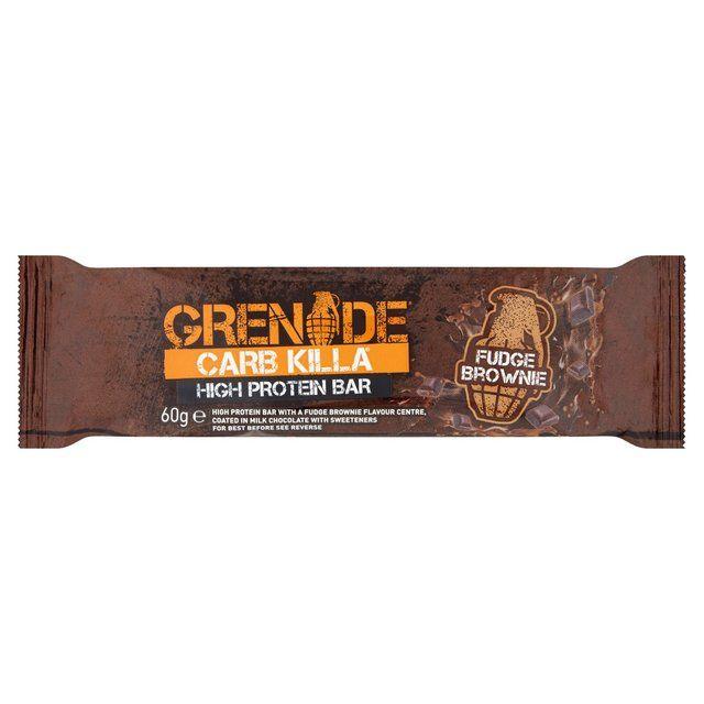 Grenade Carb Killa Chocolate Fudge Brownie Protein Bar 60g