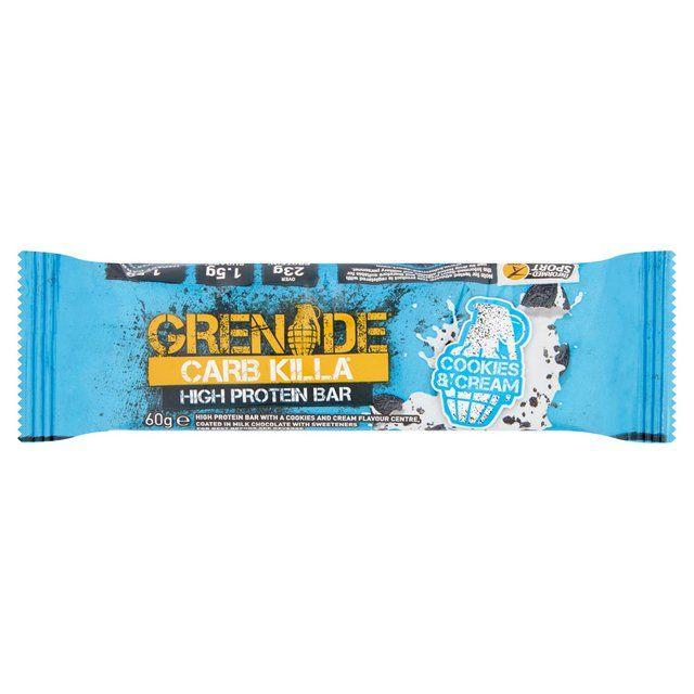 Grenade Carb Killa Cookies & Cream Protein Bar 60g