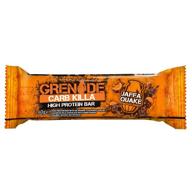 Grenade Carb Killa Jaffa Quake Protein Bar 60g